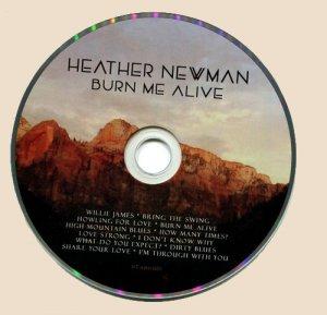 CD-Heather Newman - Burn Me Alive