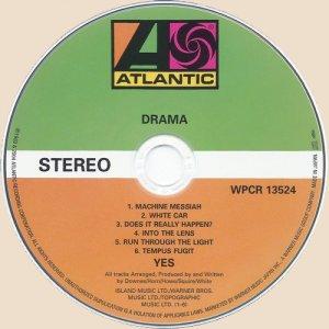 CD-Yes - Drama