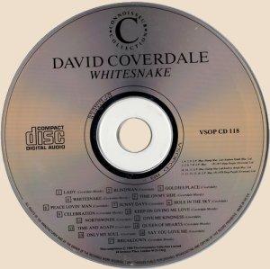 CD-David Coverdale - Whitesnake and Northwinds