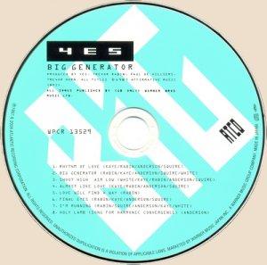 CD-Yes - Big Generator