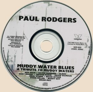 CD-Paul Rodgers - Muddy Water Blues
