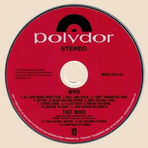 CD-The Who - Who