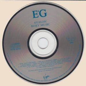 CD-Roxy Music - Avalon