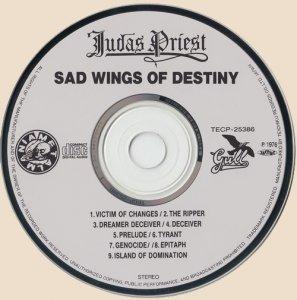 CD-Judas Priest - Sad Wings of Destiny