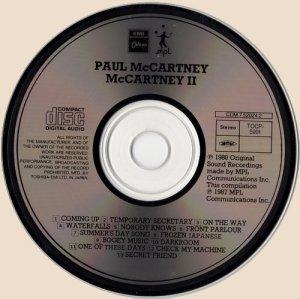 CD-Paul McCartney - McCartney II