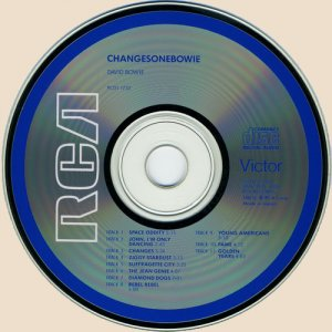 CD-David Bowie - ChangesOneBowie