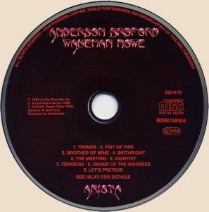 CD-Anderson Bruford Wakeman Howe
