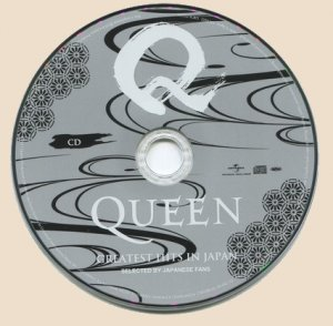 CD-Queen - Greatest Hits In Japan