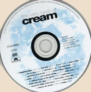 CD-The Very Best Of Cream