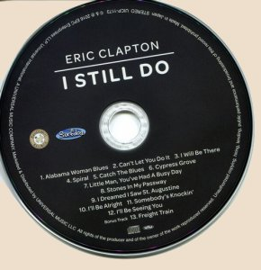 CD-Eric Clapton - I Still Do