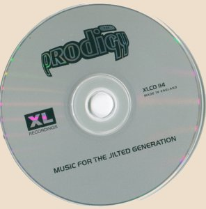 CD-The Prodigy - Music For The Jilted Generation