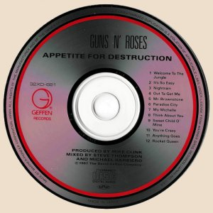 CD-Guns N' Roses - Appetite For Destruction