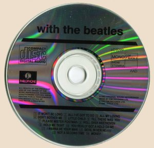 CD-The Beatles - With The Beatles
