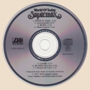 CD-Supermax - World Of Today
