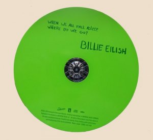 CD-Billie Eilish - When We All Fall Asleep