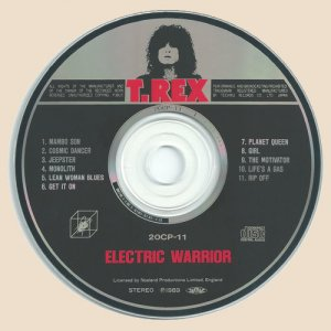 CD-T Rex - Electric Warrior
