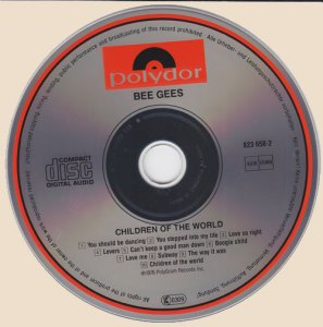 CD-Bee Gees - Children Of The World