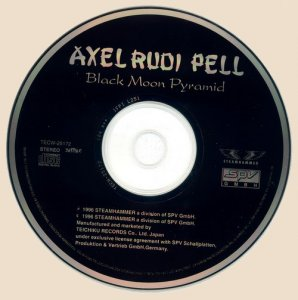CD-Axel Rudi Pell - Black Moon Pyramid