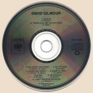 CD-David Gilmour