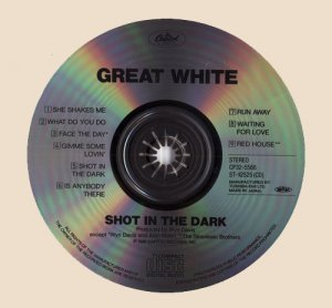 CD-Great White - Shot in the Dark