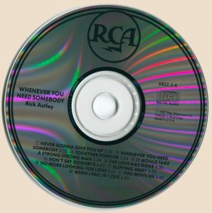 CD-Rick Astley - Whenever You Need Somebody