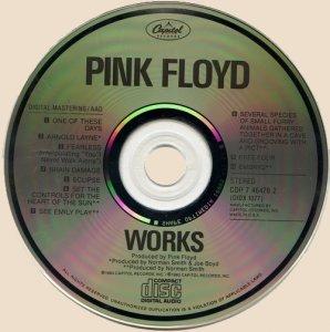 CD-Pink Floyd - Works