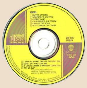 CD-Keel - Keel