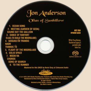 CD-Jon Anderson - Olias Of Sunhillow
