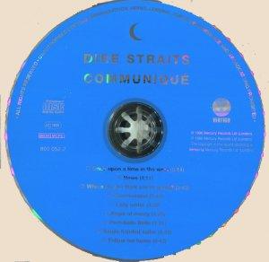 CD-Dire Straits - Communique
