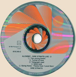 CD2-Dire Straits - Alchemy - Dire Straits Live Part Two