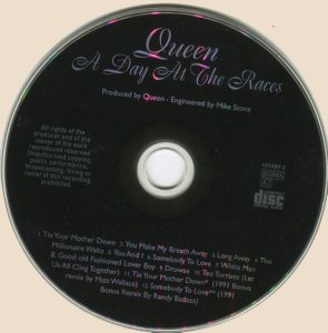 CD-Queen - A Day At The Races