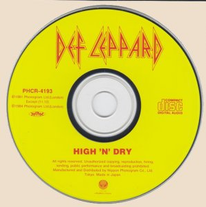 High' N' Dry