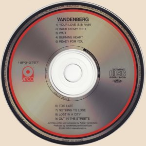 Vandenberg - Vandenberg_CD