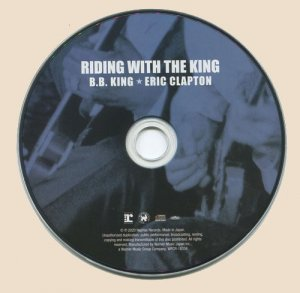 B.B. King and Eric Clapton - Riding With The King (CD)