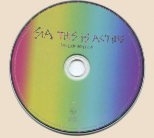 Sia - This Is Acting (2016)_CD