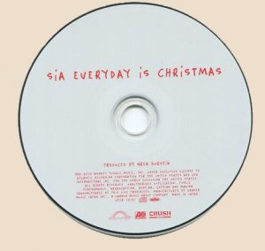 Sia - Everyday Is Christmas (2018) CD