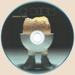 Q-bizm - Corduroy Shorts_CD