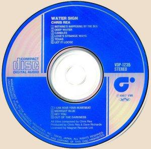 Chris Rea - Water Sign (CD)