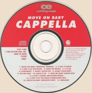Cappella - Move On Baby (1994) CD