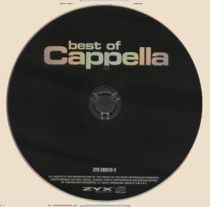 Cappella - Best Of (2010)_CD