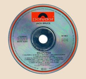 Jack Bruce - Willpower (CD)