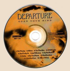 Departure - Open Your Mind_CD