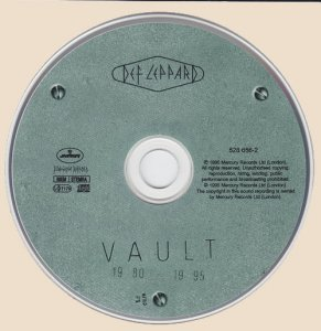 Def Leppard - Vault (Greatest Hits 1980-1995) 1995