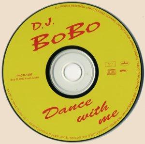 DJ BoBo - Dance With Me_CD
