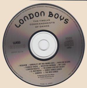 London Boys - The Twelve Commandments Of Dance (CD)