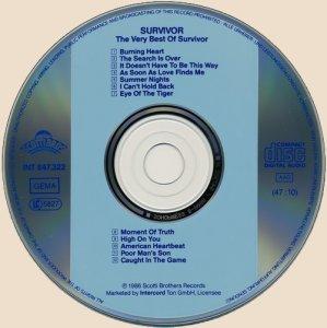 Survivor - The Very Best Of Survivor (CD)