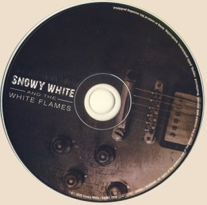 Snowy White and The White Flames - Something on Me (CD)