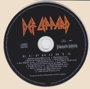 Def Leppard - Euphoria (CD)