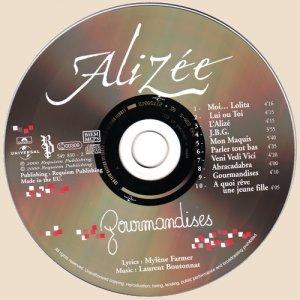 Alizee - Gourmandises_CD
