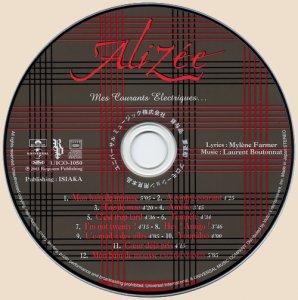Alizee - Mes Courants Electriques_CD
